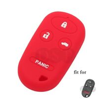 Silicone Cover fit for HONDA CRV S2000 Insight Remote Key 3+1 Button CV2209RD