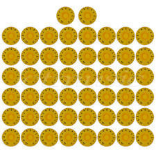 50pcs Speed Control Knobs For Gibson Les Paul LP Electric Guitar Parts Yellow