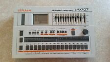 ROLAND TR-707 RHYTHM COMPOSER DRUM MACHINE & POWER SUPPLY