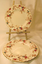 Minton England Fine Bone China ANCESTRAL Two (2) Salad Plates Discontinued