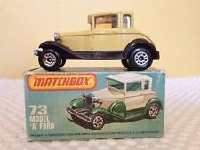Matchbox 75 Series No. 73 Model 'A' Ford - Boxed in Excellent Condition