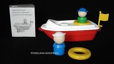 Free Ship Tupperware Tupper Kids Canoe Toy Boat Fun People Life Preserver NEW