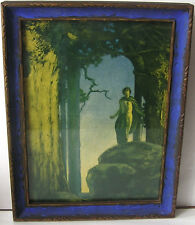 Antique Maxfield Parrish Print Jason and the Talking Oak in Period Frame