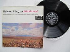 """Nelson Eddy in Oklahoma Complete Score 12"""" Lp BBL 7114 GB Philips Minigroove"""