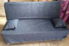 Divano 2 posti trasform. a letto con rete elettrosaldata e materasso completa