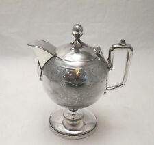 A Late 19th Century Silver Plated Bachelor Coffee Pot by Reed & Barton