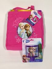 Disney Frozen Lot Elsa Anna Silk Touch Throw Blanket Canvas Tote Night Light New