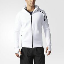 adidas MEN ZNE Hoodie Zip Up Jacket Plus FREE Adidas Basic TEE logo size L