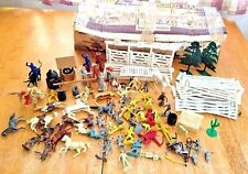 MARX Roy Rogers Rodeo Ranch Play Set Lots Of Extras Bullet The Dog