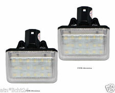 LED 2x 18smd Mazda 6 cx7 matrícula iluminación matrícula Can-Bus 6000k set