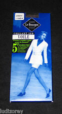 "COLLANT T 4 NYLON VOILE 15 D FRANCE ""LE BOURGET"" COLORIS CENDRE SEXY QUALITE"