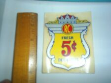 NOS RC 5 Cent fresh delicious Water Release Item #306A Silver King Corp