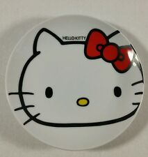 Hello Kitty Plate Collectible Ceramic Lawson Sanrio 6.5 Inches