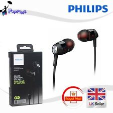 New Genuine Philips SHE 8005   In Ear Headphones SHE8005 with Mic UK Stock