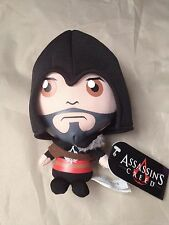 "Assassins Creed Brotherhood Ezio 6"" Plush  Black Licensed Product"