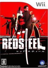 Used Wii Red Steel Nintendo JAPAN  JAPANESE JAPONAIS IMPORT