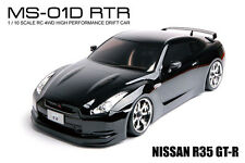 MST MS-01D RTR 1/10 Scale 4WD RC Drift Car (2.4G)w/carbody- NISSAN R35 GT-R