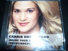 Carrie Underwood Inside Your Heaven / Independence Day US CD Single