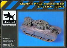 Blackdog Models 1/72 CHURCHILL Mk.IV TANK Resin Detail Set