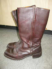 FRYE Walnut Brown 15L Campus Boots with Lug Sole, Women's 10