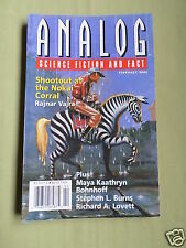 ANALOG - SCIENCE FICTION & FACT MAG  - FEB 2003 - RAJNAR VAJRA - STEPHEN L BURNS