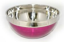 Violet Stainless Steel Mixing Bowl 30 cm