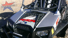 American Rock Rods GUNMETAL Powdercoat Hood panel kit for 2011 + Polaris RZR