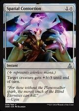 x4 Spatial Contortion MTG Oath of the Gatewatch M/NM, English