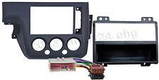 FORD Fiesta JH1/ JD3 ab Bj.02-05 Radio Blende Einbau Rahmen Adapter ISO Kabel