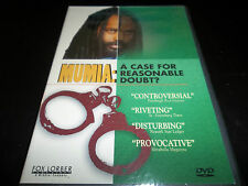 MUMIA ABU-JAMAL: A CASE FOR REASONABLE DOUBT? *DVD *NEW/SEALED *COP KILLER OR NO