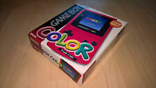 Nintendo Game Boy Color - Rot - OVP - NEU Zustand - Mint Condition