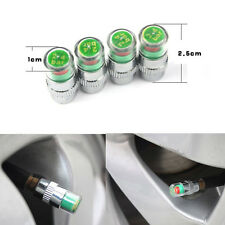 4pcs Motorcycle Tire Pressure Monitor Valve Stems Covers Caps Sensor For Harley
