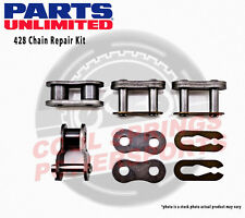 Parts Unlimited 428 Chain Repair Kit Chain Master Link Clips