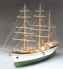 "Genuine, elegant wooden model ship kit by Constructo: the ""Gorch Fock"""