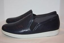 Trotters Americana navy soft leather slip on   women's size 10 w