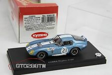 Kyosho 1:43 scale Shelby Cobra Daytona Coupe 1966 JAPAN GP No.21 (Mega RARE)