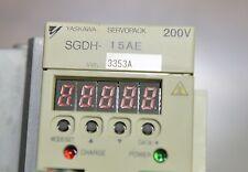 YASKAWA  SGDH-15AE 1.5KW SERVO DRIVE