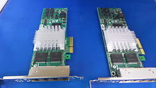 2X HP NC364T 436431-001 PCI-E Quad Port Gigabit Server Adapter F/H £49+vat