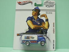 GMC COE 1951 THE SATURDAY EVENING POST NORMAN ROCKWEL HOT WHEELS BLISTER US 1/64