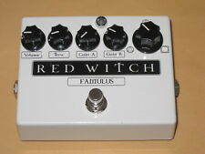 lightly used Red Witch FAMULUS Distortion / Overdrive  -  no box and no battery