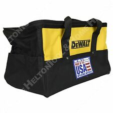 "Dewalt 18"" Heavy Duty Electrical Tool Bag USA New for Drill Impact Recip Saw"