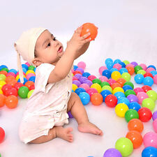 100 pcs colorful ball Soft Plastic Ball Ocean funny baby kid Swim Pit Child Toy