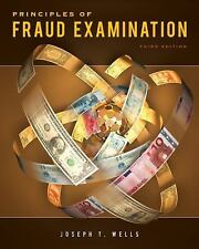 Principles of Fraud Examination by Joseph T. Wells (2010, Hardcover)
