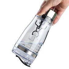 550ML Portable Protein Shaker Tornado Cocktail Mixer HandHeld Battery Bottle Cup