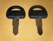 SUZUKI MOTORCYCLE TWO 2 KEY BLANKS GS550 GS650 GS850 GSX1100F KATANA & MORE X87P