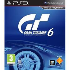 Gran Turismo 6 GT6 Game For Sony Playstation 3 PS3 NEW & SEALED