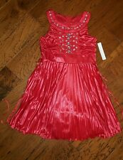 NWT Girl's Red Dressy Valentines Day Flower Girl Dress My Michelle Size 12 $68