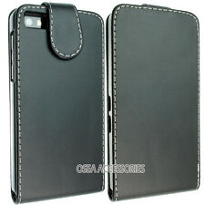BlackBerry Z10 BB10 cuir Housse Etui poche manches Wallet peau Flip arrière GEL