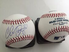Chris Okey hand signed autographed baseball Reds prospect Clemson Tigers as-is