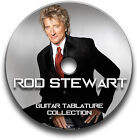 ROD STEWART ROCK GUITAR TABS TABLATURE SONG BOOK SOFTWARE CD